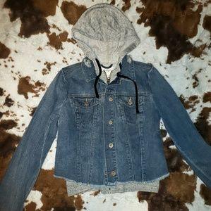 Jessica Simpson jean jacket NWT